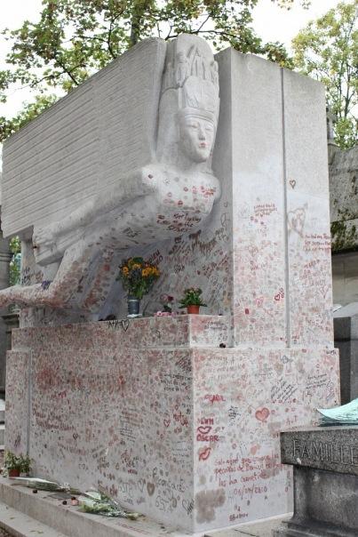 могила Оскара Уальда